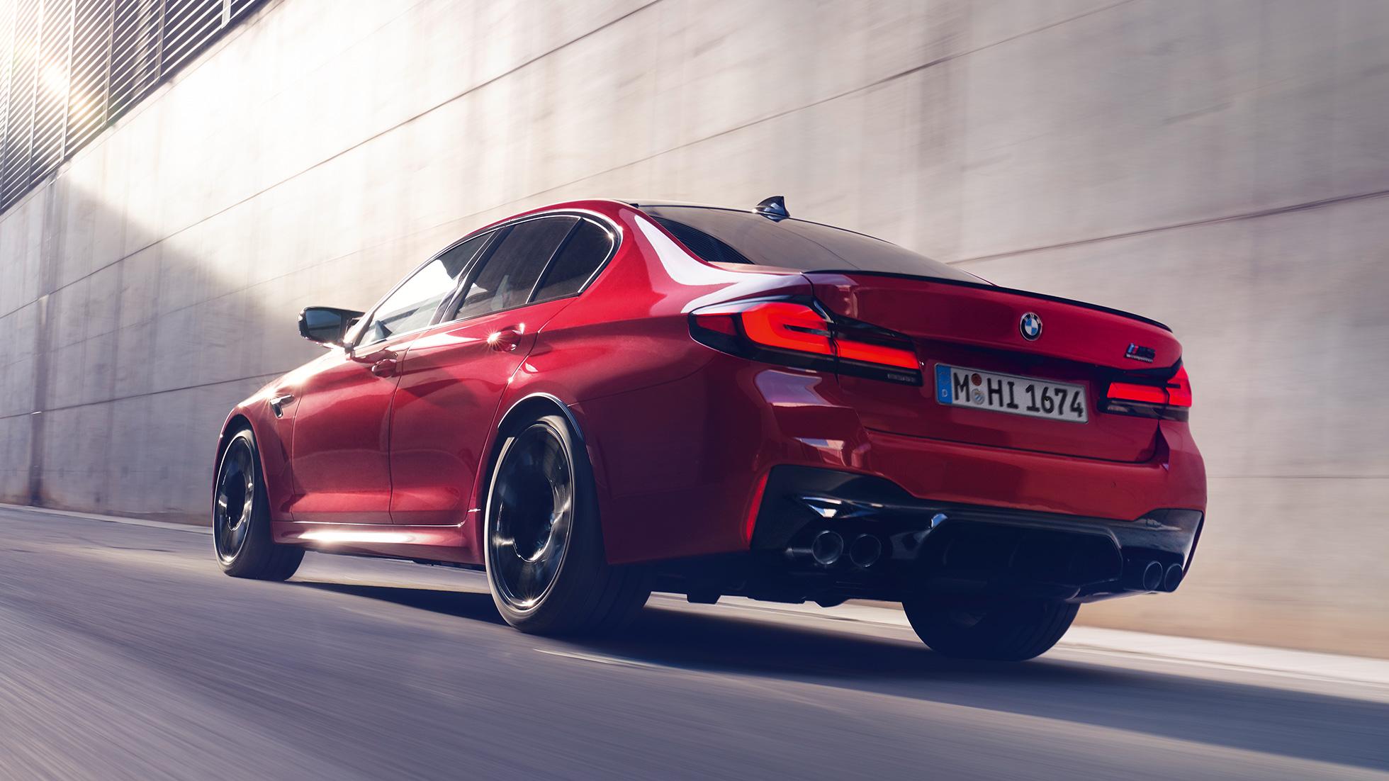 """Горячие пятерки"": в BMW обновили M5 и М5 Competition"